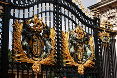 Buckingham palace gate, London Stock Photography