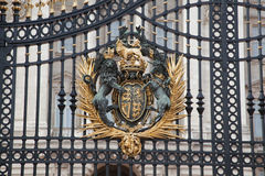Buckingham Palace Gate London England Stock Image
