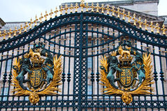 Buckingham Palace gates Royalty Free Stock Image