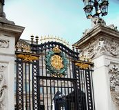 Buckingham Palace Gates Stock Image