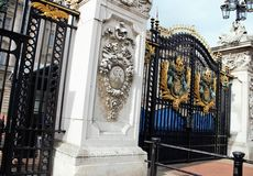 Buckingham Palace Gates Stock Images