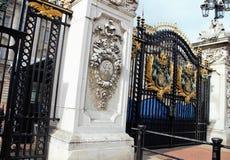 Buckingham Palace Gates Stock Images