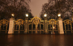 Buckingham Palace-Gatter Stockfoto