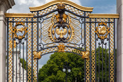 Buckingham Palace Golden Gate London Stock Photography