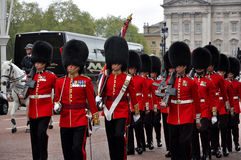 Buckingham Palace Guard Change Royalty Free Stock Photography