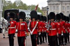 Buckingham Palace Guard Change Royalty Free Stock Photography