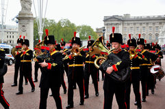 Buckingham Palace Guard Change Royalty Free Stock Image
