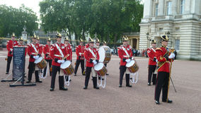 Buckingham Palace guard changing Stock Images