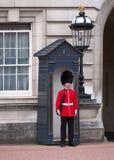 Buckingham Palace guard Royalty Free Stock Image