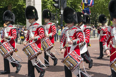 Buckingham Palace guards Royalty Free Stock Images