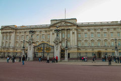 Buckingham Palace. House of the British Queen Stock Photos