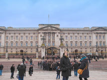 Buckingham Palace i London Royaltyfria Foton