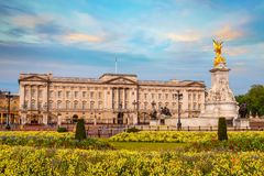 Buckingham Palace jest Londyn, UK obrazy royalty free