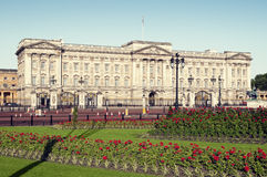 Buckingham Palace, Londen. Stock Foto's