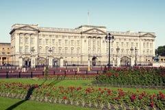 Buckingham Palace, Londen. stock foto's