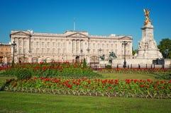 Buckingham Palace, Londen Stock Afbeeldingen