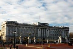 Buckingham Palace in Londen Stock Foto
