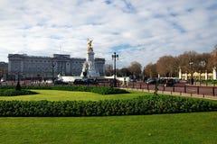 Buckingham Palace in Londen Royalty-vrije Stock Foto's