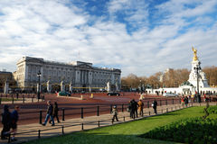 Buckingham Palace in Londen Stock Fotografie