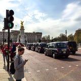Buckingham Palace, Londen, het UK Royalty-vrije Stock Afbeelding