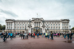 Buckingham Palace in Londen, het UK Royalty-vrije Stock Foto