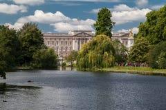 Buckingham Palace London stockbilder