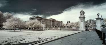 Buckingham Palace, London, Royalty Free Stock Images