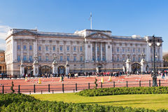 Buckingham Palace in London in a beautiful day Royalty Free Stock Image