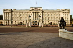 Buckingham Palace, London, England. Buckingham Palace in the early morning Stock Image