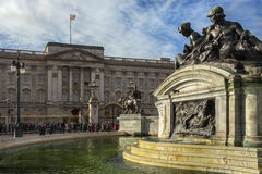 Buckingham Palace - London - England Stockbilder