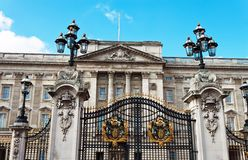 Buckingham palace Royalty Free Stock Photography