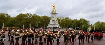 Buckingham Palace. London, Great Britain Stock Image