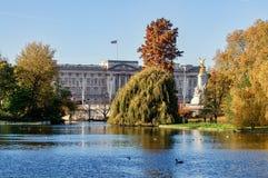 Buckingham palace in London, Great Britain. Buckingham palace in London, 10. 11. 2017 Great Britain Stock Image