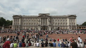 Buckingham Palace London stock video footage