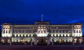 Buckingham Palace in London Royalty Free Stock Image