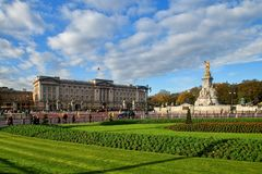 Buckingham Palace in London Stock Image