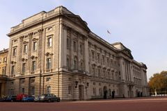 Buckingham Palace. Is the London residence and administrative headquarters of the monarch of the United Kingdom. Located in the City of Westminster, the palace Royalty Free Stock Images