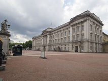 Buckingham Palace. Is the London residence and administrative headquarters of the reigning monarch of the United Kingdom Stock Photos