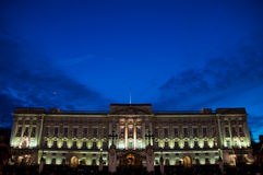 The Buckingham Palace in London Royalty Free Stock Photography