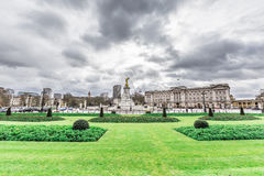 Buckingham Palace in London. UK stock photos