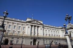 Buckingham Palace in London. LONDON, UK - MAY 16TH 2014: The historic Buckingham Palace in London on 16th May 2014 Royalty Free Stock Photography