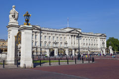 Buckingham Palace in London Royalty Free Stock Photography