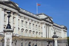 Buckingham Palace in London. LONDON, UK - MAY 16TH 2014: The historic Buckingham Palace in London on 16th May 2014 Stock Photo