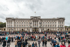 Buckingham Palace in London, UK. Stock Photos