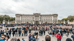 Buckingham Palace in London, UK. Stock Photo