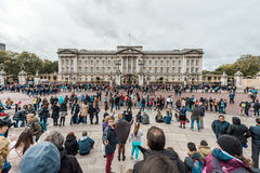 Buckingham Palace in London, UK. Royalty Free Stock Photography