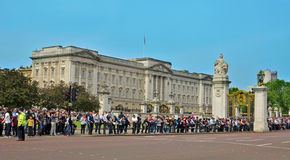 Buckingham Palace in London, United Kingdom Royalty Free Stock Photography