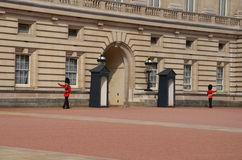 Buckingham Palace. London, United Kingdom changing of the guard Royalty Free Stock Photography