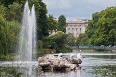 Buckingham Palace Londra Fotografie Stock Libere da Diritti