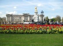 Buckingham Palace, Londra - immagine di riserva Immagine Stock